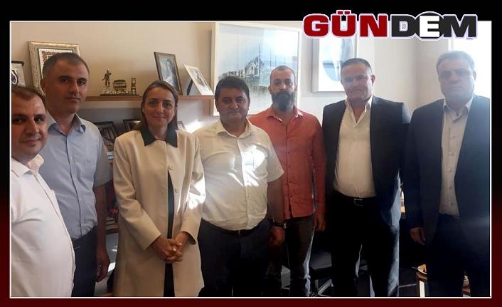 GMİS, BAŞDANIŞMAN ORUÇ'U ZİYARET ETTİ