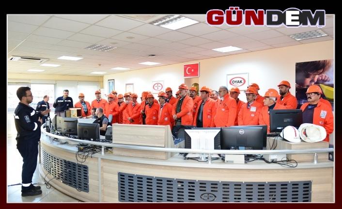 MUHTARLAR ERDEMİR'İ GEZDİ