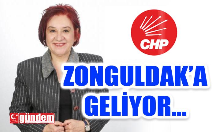 CHP KADIN KOLLARI GENEL BAŞKAN ADAYI KULAKSIZ ZONGULDAK'A GELİYOR