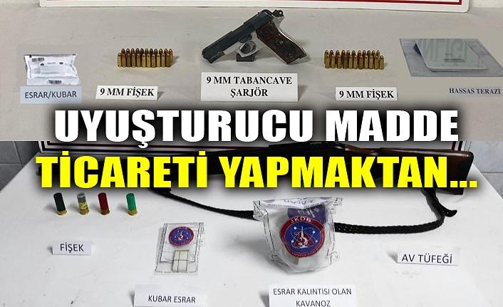 UYUŞTURUCU MADDE TİCARETİ YAPMAKTAN...