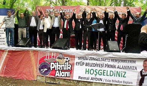 ZONDEF İSTANBUL'DA ZONGULDAK'LILARI PİKNİKTE BULUŞTURDU