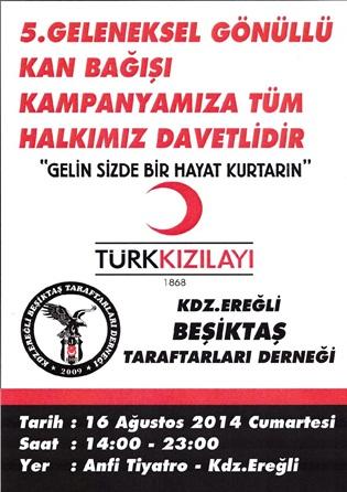 Bjk'den kan bağışı kampanyası