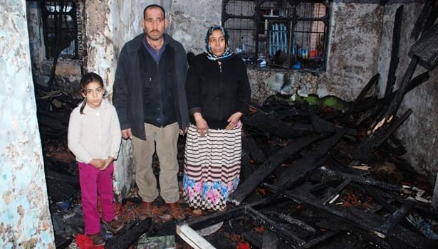 Ereğli´de vatandaşın önce evi,ardından arabası yandı
