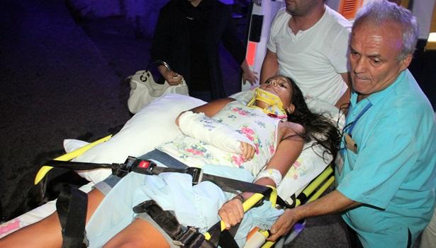 Ereğli´de pat-pat, araçla çarpıştı,2 yaralı