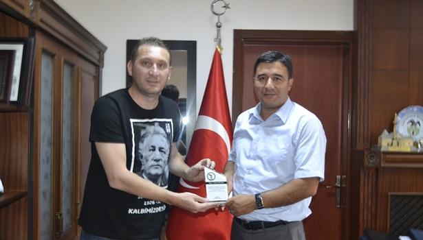 Malğaç'a veda ziyareti
