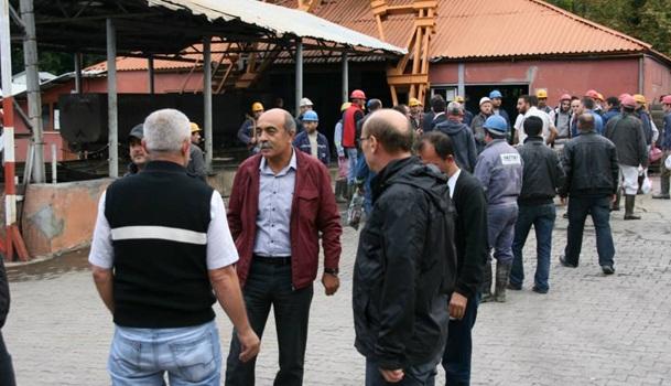 Ereğli CHP,Madencilere Destek verdi