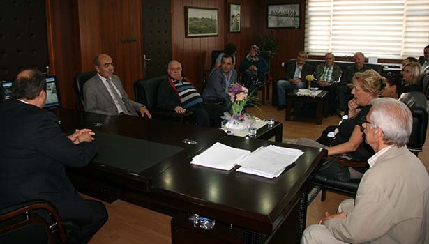 CHP Ereğli İlçe Örgütü Başkan Demirtaş'ı ziyaret etti