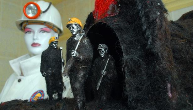 Madencinin saçları uluslararası ödül getirdi
