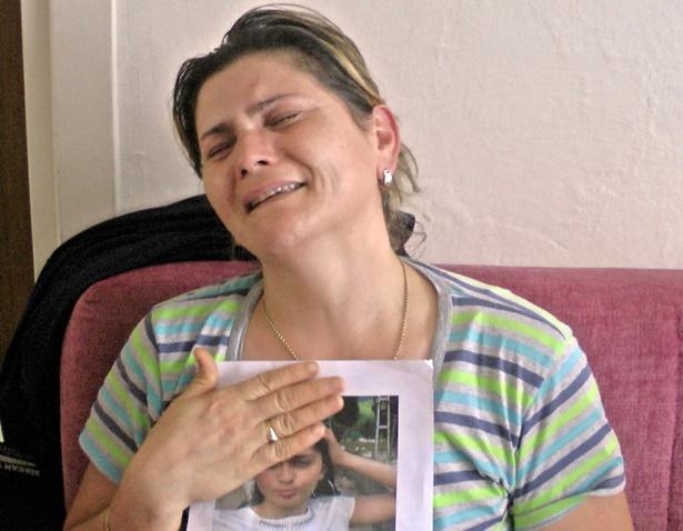 Kızı kaçırılan annenin feryadı