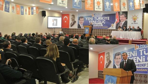 AK Parti İlk Kongresini Gülüç'te yaptı