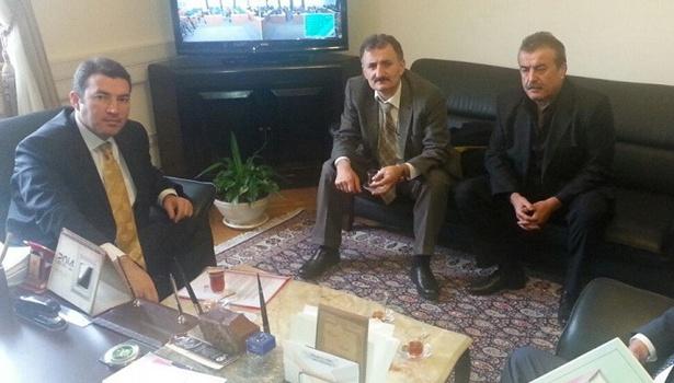 2b arazi sorunlarını Bakan Şimşek'e iletti