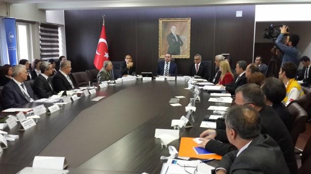Türkiye afet müdehale planları masabaşı tatbikatı yapıldı