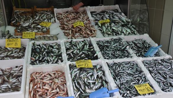 Hava soğudu balık fiyatları arttı