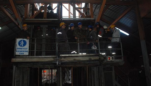Eylemin sona erdiği maden ocağında 70 işçi işten çıkarıldı