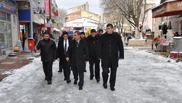 Başkan Uysal'dan Alaplı ziyaretleri
