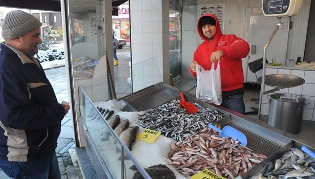 Tezgahlarda balık azaldı