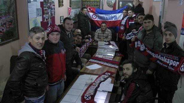 Zonguldakspor sevgisi mesafe tanımıyor