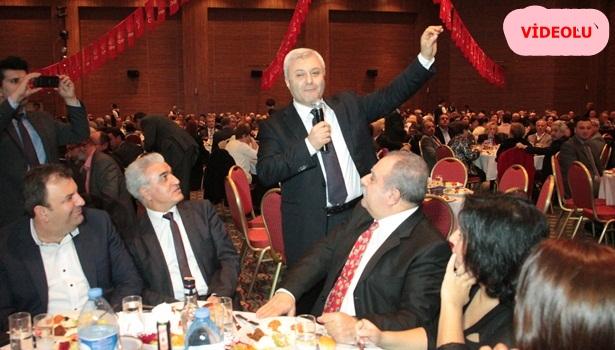 """Özkan Birlik ve beraberlik gecesine katıldı"""""""