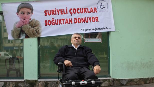 Ereğli Fiziksel Engelliler Derneğinden yardım kampanyası