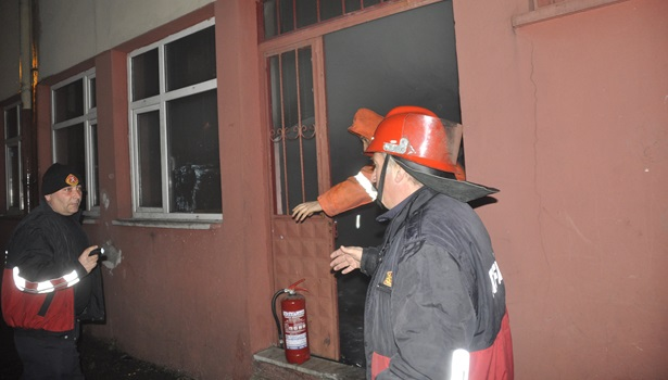 Yangın paniğe neden oldu