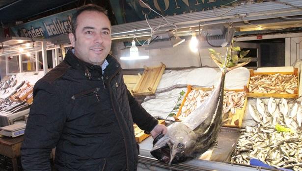 Ereğli´de balıkçıların ağına 40 kiloluk torik takıldı