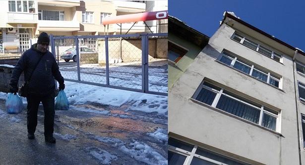 Buzlanma ve çatılardan düşen kar parçaları tehlikelere neden oluyor
