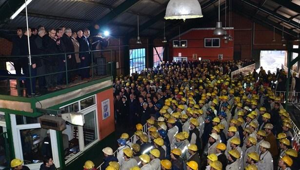 263 Maden işçisi Dualarla anıldı