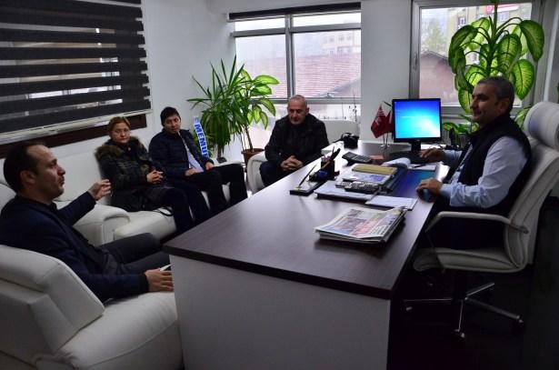 KGD'den Basın İlan Kurumu'na ziyaret