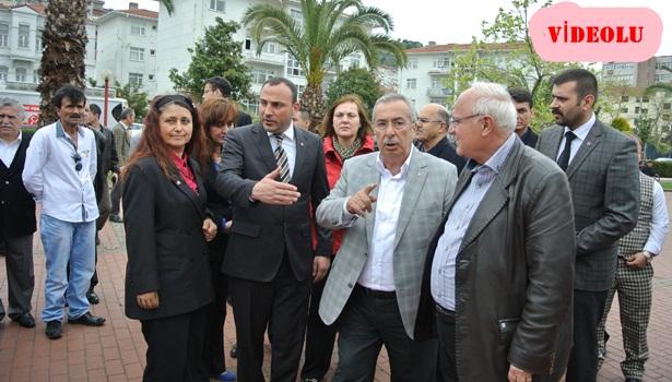 MHP'li adaylara Ereğli ve Gülüç'te yoğun ilgi