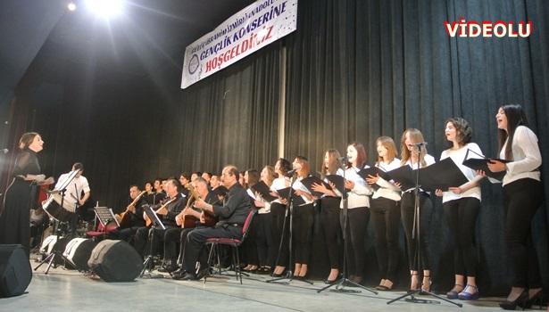 Gülüç İbrahim İzmirlioğlu Anadolu Lisesinden muhteşem konser