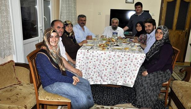 Çaturoğlu Babaocağında iftar açtı