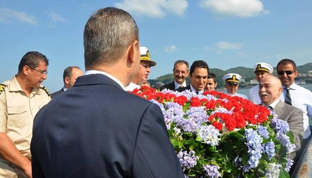 1 Temmuz Denizcilik ve Kabotaj Bayramı törenle kutlandı