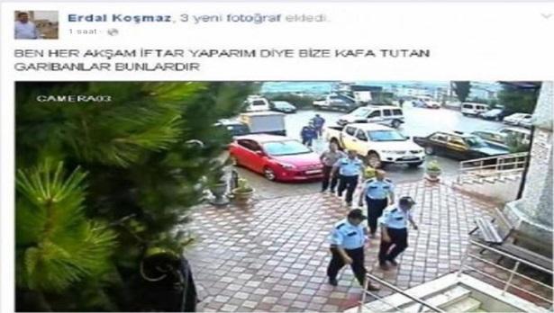 İmamdan Polislere tepki