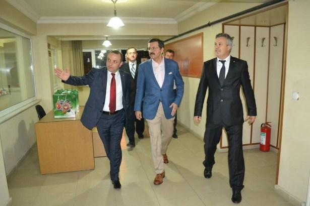 Hisarcıklıoğlu'dan Alaplı çıkarması