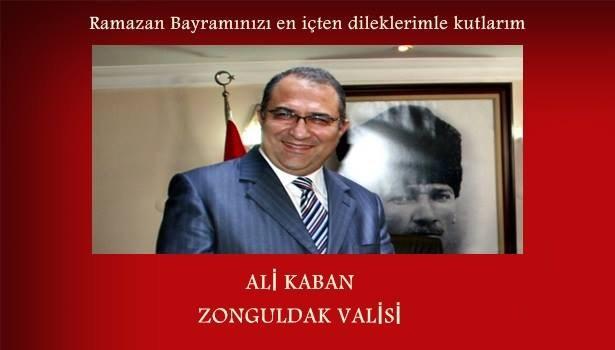 Zonguldak Valisi Ali Kaban