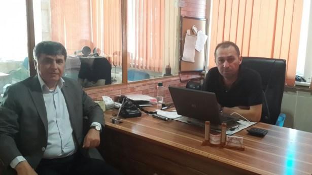 Başkan Aydın'dan Eser'e ziyaret