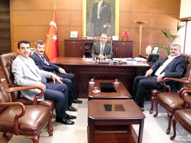 Çaturoğlu Vali Kaban ile görüştü