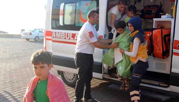 4 Suriyeli boğulmaktan son anda kurtarıldı