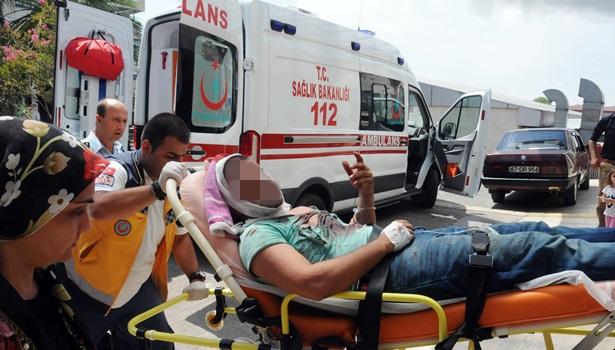 Baltalı ve sopalı kavgada 2 kişi yaralandı