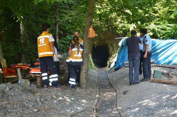 Maden ocağında iki işçi mahsur