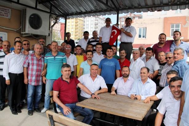 Ereğli´li Servisciler Teröre tepki gösterdi