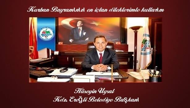 Kdz.Ereğli Belediye Başkanı Hüseyin Uysal