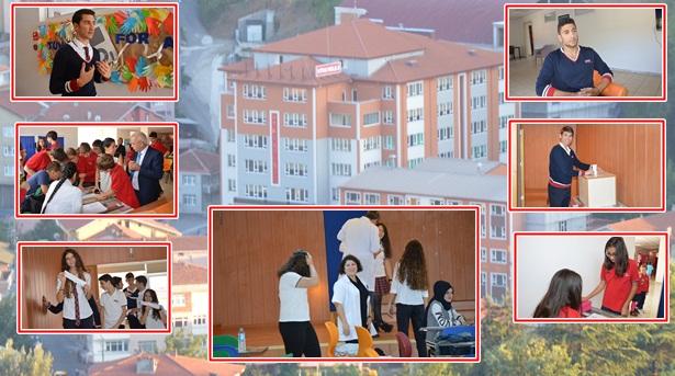 Utku Kolejinde seçim heyecanı yaşandı