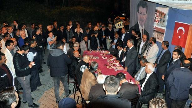 Başkan Uysal ,Ören ve Elmatepe mahallesindeydi