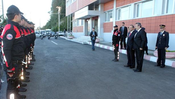 11 motosikletli polis sertifikasına kavuştu