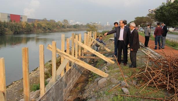 Gülüç Belediyesi Sahil Projesine başladı