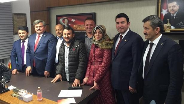 Ak Parti Alaplı İlçe Yönetiminden milletvekillerine ziyaret