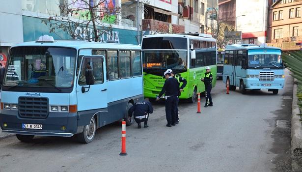 Kar lastiği takmayan araçlara 571 lira ceza kesildi