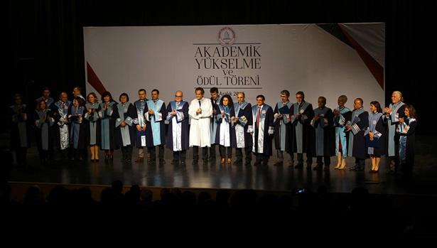 Akademik yükselme ve ödül törenleri gerçekleştirildi