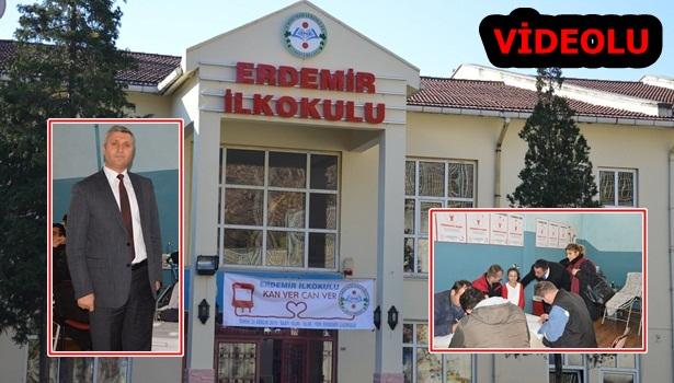 Kan Bağışı Kampanyasında Erdemir İlkokulu Türkiye rekorunu kırdı